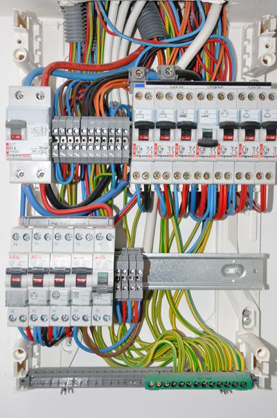 Cuadro de Electricidad